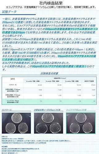 携帯用除菌・消臭スプレーエコノアクアピュール50ml