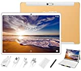 GOODTEL Tablet 10 Pollici, 4 GB RAM + 64 GB ROM, G3 Tablets PC Android con Doppia Fotocamera (5MP+8MP), WiFi | GPS | Bluetooth 4.0 | Doppia SIM | MicroSD | Type-C, con Tastiera Bluetooth