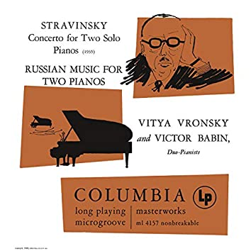 Stravinsky: Concerto for Two Solo Pianos - Russian Music for Two Pianos