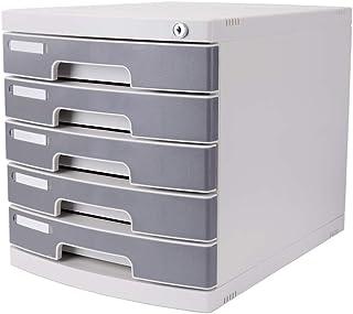 KANJJ-YU Tiroir trieuses de stockage de documents du Cabinet, Bureau Extension tiroir verrouillable bureau Organisateur (p...