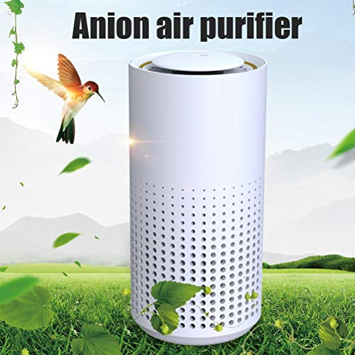 Wination Car Mini Air Purifier Air Freshener Cleaner Portable Negative Ion Generator Ionizer for Bedroom Office