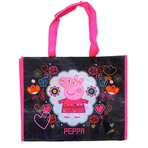 Peppa Pig grand sac fourre-tout sac à bandoulière sac 42x33x16cm grand