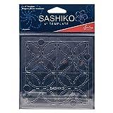 Sew Easy Sashiko - Plantilla de bordado (4 x 4 pulgadas)