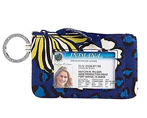 Vera Bradley Zip ID, Womans Wallet, Card Holder African Violet
