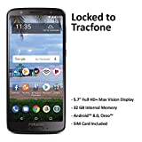 TracFone Motorola Moto G6 4G LTE Prepaid Smartphone (Locked) - Black - 32GB - Sim Card Included - CDMA, Model Number: TFMTXT1925DCP