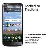($50 eGift Card Promotion) TracFone Motorola Moto G6 4G LTE Prepaid Smartphone (Locked) - Black - 32GB - Sim Card Included - CDMA