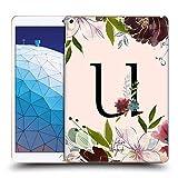 Head Case Designs Officiel Nature Magick Lettre U Rose Gold Flowers Monogram 2 Coque Dure pour...