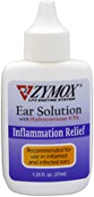 Zymox Ear Solution with 0.5-Percent Hydrocortisone, 1.25-Ounce