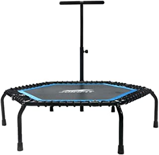 Trampoline Folding Bungee Adult Fitness Equipment Indoor Children's Folding Bounce Bed Elastic Bed/home Jumping Bed (Color...