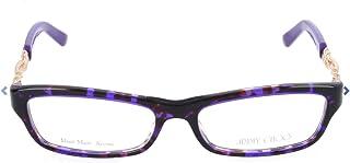 Rose Gold 51MM JIMMY CHOO Eyeglasses 85 08Q4 Violet