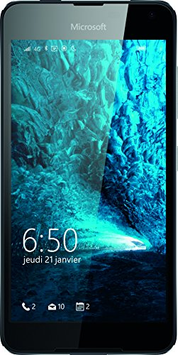 Microsoft Lumia 650  Smartphone, entsperrt, 4G+, Display: 11,4 cm / 5 Zoll, 8 GB, Nano-SIM (1-Fach), Windows Phone