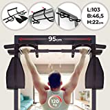 Physionics®–KLMZ04–Barra da trazioni–120kg, Fissaggio Semplice