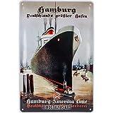 Nostalgic-Art Retro Blechschild Hamburg – Deutschlands