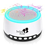 White Noise Machine for Sleeping Baby Kids, Thunderstorm Water 21 High Fidelity Soothing Sounds, Portable Sound Machine with Night Light