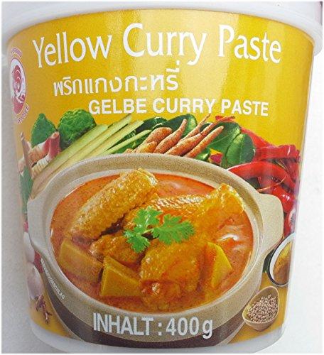 Cock Brand - Pâte de Curry Jaune 400G