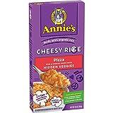 Annie's Homegrown Cheesy Rice - Pizza, Rice & Cheese Sauce 6.6 oz Box