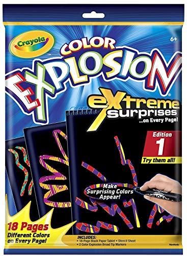 Crayola Rainbow Color Explosion