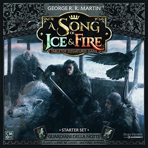 Asmodee Song of Ice and Fire Guardianes de la Noche Starter Set con miniaturas de Colores, 10409