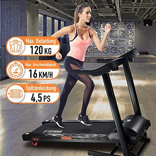 FT880 cinta de correr profesional 7,5ps 22 km/h, con 10,1 pulgadas ...