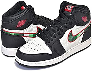 [ナイキ] エアジョーダン 1 ハイ OG GS AIR JORDAN 1 RETRO HIGH OG(GS) A STAR IS BORN black/varsity red-sail スニーカー AJ1 SPORTS ILLUSTRATED レディース 24cm(US6Y) [並行輸入品]