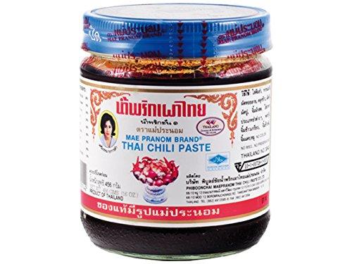 MAE PRANOM Thai- น้ำพริก Chilipaste in Öl 513 G