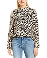 Current/Elliott Womens The B50 Top, 3, Red