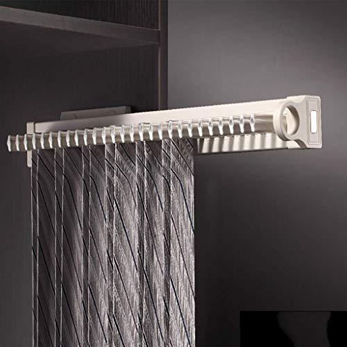 Kleerhangers veelzijdig opbergrek sjaals riem organizer ABS kunststof aluminiumlegering (kleur: links) rechts