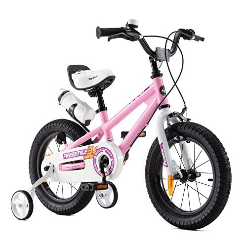 bicicletta bambini offerte RoyalBaby bicicletta per bambini ragazza ragazzo Freestyle BMX bicicletta bambini bici per bambini 14 pollici rosa