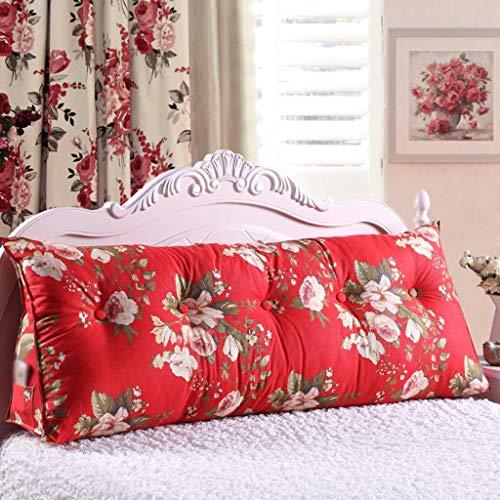 Cuscini da lettura Grande lettura triangolare cuneo cuneo cuscino testa cuscino letto letto schienale posizionamento supporto divano letto letto imbottito cuscino di raffico (colore: l, dimensione: 10