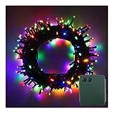 LED Batterie Lichterkette Kette Batteriebetrieben 8 Modi und Timer Leuchte Dekoratives Beleuchtung...