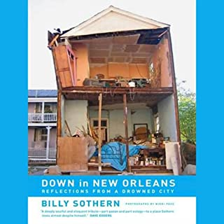 Down in New Orleans audiobook cover art