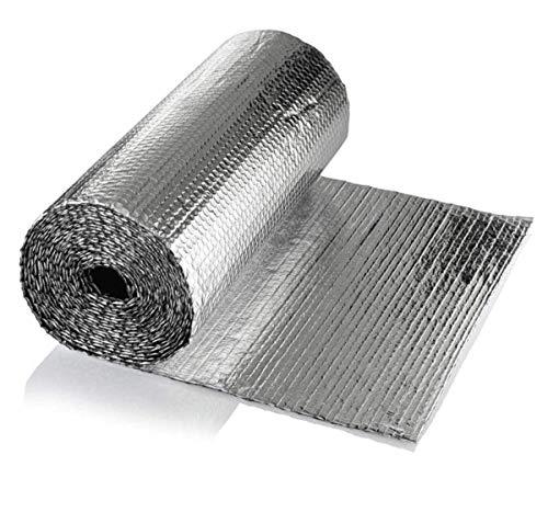 Selbstklebend Thermo Und Schaum Isolierung Rohrisolierung Folie Dämmung Isolierung Isoliertapete Wand Isolierung Dachisolierung Isolierung Folie Isolierungsfolie Wärmehaltung 4m(Color:4mm,Size:1×30m)