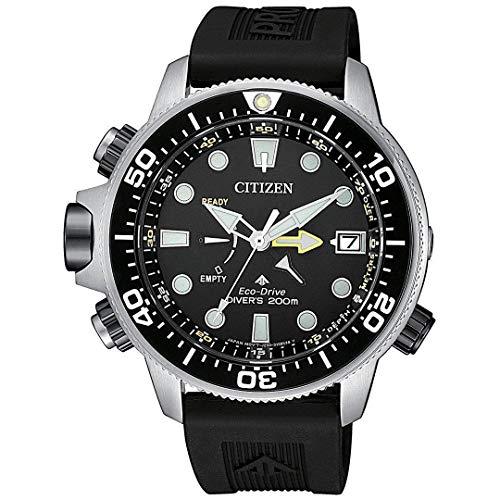 Citizen Promaster Aqualand Eco Drive Reloj Hombre Correa Caucho BN2036-14E