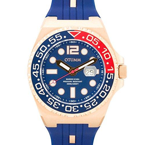 Otumm Scuba Unisex Reloj con Calendario 52mm 30ATM SCRG52-002