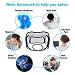 Omasi Hamac de Cou Cervicale Hamac Massage, Portable Détente Hamac Massager, Sangle de Suspension pour Soulager le Douleur, Longueur Réglable #1