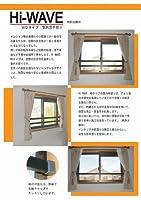安心、安全商品のアルミ角パイプ製 窓用落下防止手摺り ハイウェイブWD型 1801mmから2000mm ステンカラー