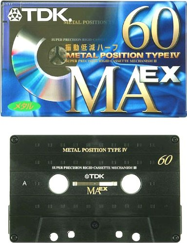 TDK メタルテープ カセットテープ 60分 MAEX-60