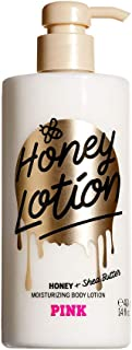 PINK/VICTORIAS SECRET Honey Lotion with Shea Butter Moisturizing Body Lotion 14 Ounces New Womens