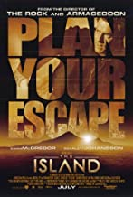 The Island Poster Movie 11x17 Ewan McGregor Scarlett Johansson Djimon Hounsou Steve Buscemi