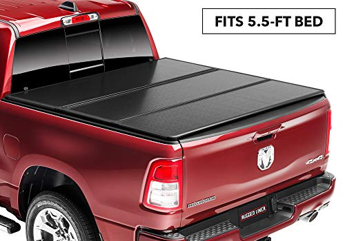 Rugged Liner E-Series Hard Folding Truck Bed Tonneau Cover   EH-F5515   fits 15-18 Ford F-150...