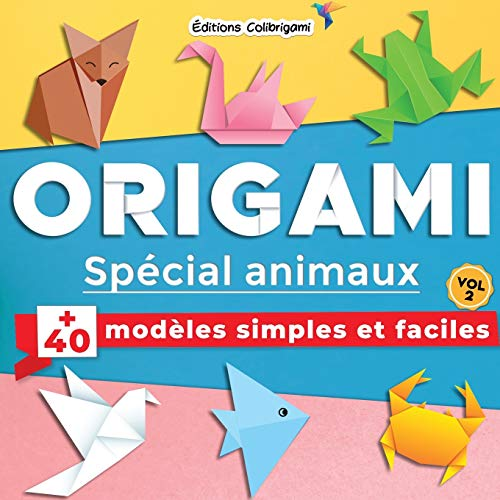 Livre origami animaux