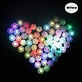 Yuccer LED-Ballons Lichter, Mini LED Licht Bunt Beleuchtung für Papierlaternen Ballons Hochzeit...