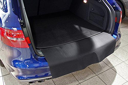 tuning-art 2924 Kofferraummatte für Audi A4 B9 8W Avant 2015-2-teilig mit Ladekantenschutz