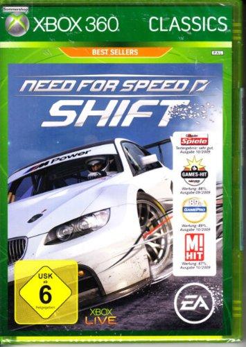 bester Test von need for speed shift Notwendigkeit für Speed Shift X-Box 360