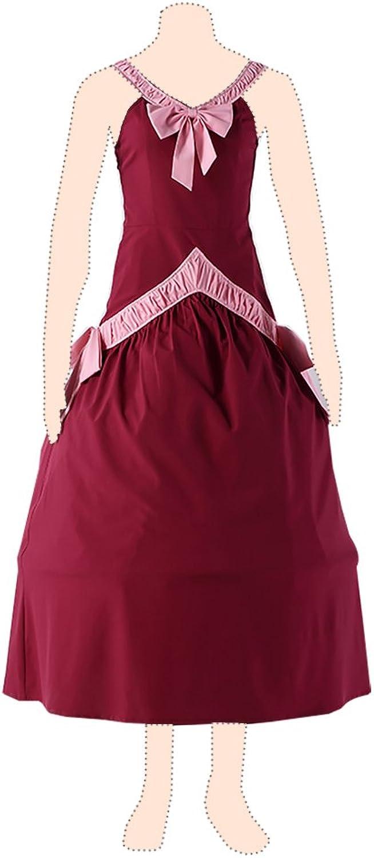 Fairy Tail Cosplay Kostuem Mirajane Strauss Ver.1 rot Dress Medium