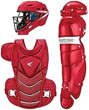 EASTON JEN SCHRO THE VERY BEST Catcher's Equipment Box Set Kit, Small, Red
