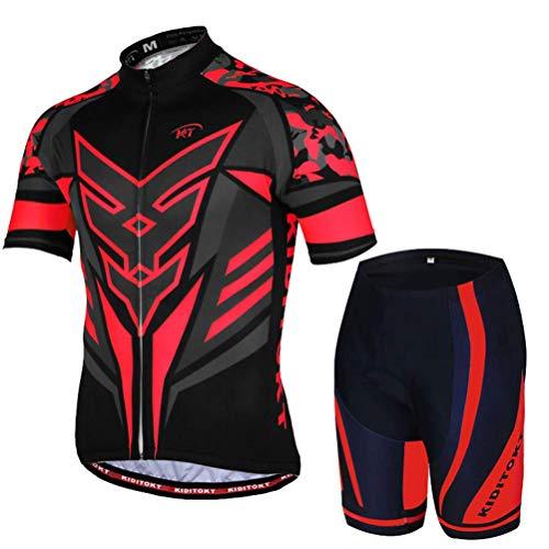 KaixinRoom - Maillot de Ciclismo para Hombre