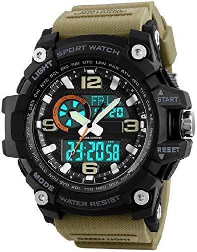 Uaw Reloj Deportivo, Resistente al Agua 50m, cronometro, Pantalla led, luz Fondo.