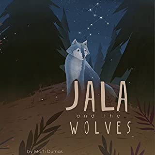 Jala and the Wolves audiobook cover art