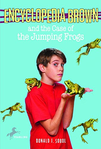 Encyclopedia Brown and the Case of the Jumping Frogs (English Edition)